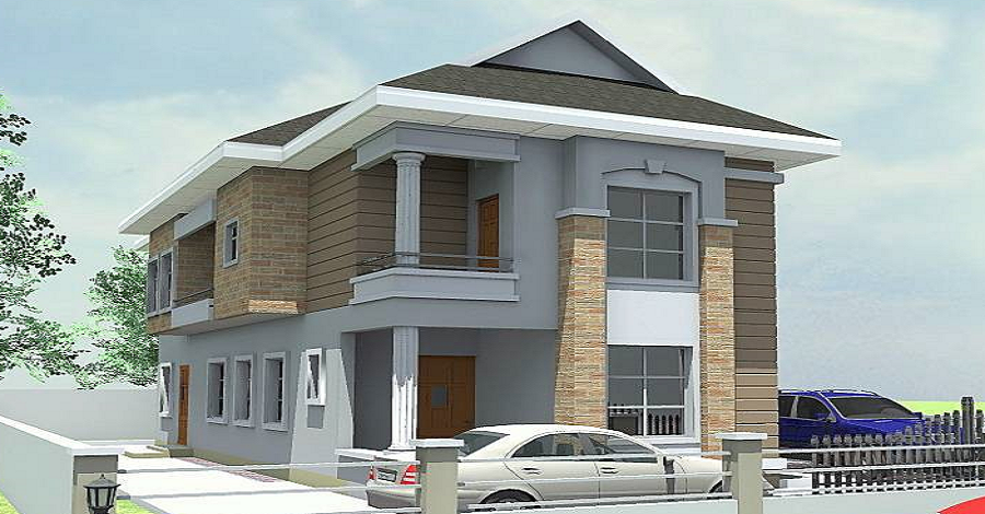 4 Bedroom Fully Detached Duplex (Shell)